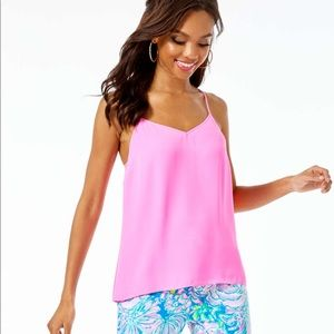 Pink Lilly Pulitzer tank top
